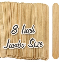 jumbo wood craft sticks